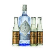 Gin Citadelle + 4 db East Imperial Grapefruit Tonic (0,7 l +4X0,15 l, 44%)