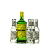 Gin Langley's First Chapter + 4 db J. Gasco Indian Tonic (0,7 l+4X0,2 l, 38%)
