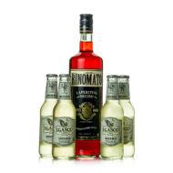 Rinomato L'Aperitivo + 4 db J.Gasco Ginger Beer (1 l + 4X0,2 l, 14%)