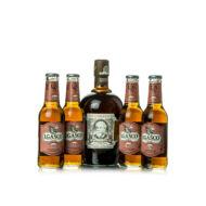 Rum Diplomático Mantuano + 4 db J.Gasco Cola (0,7 l + 4X0,2 l, 40%)