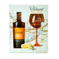 Rum Clement Shrubb Creole Ajándékcsomag (0,7 l, 40%)