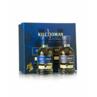 Kilchoman Ajándékcsomag 2X0,2 l Machir Bay+Sanaig (0,4 l, 46%)