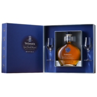 Cognac Delamain Extra 2 pohárral Pdd (0,7 l, 40%)