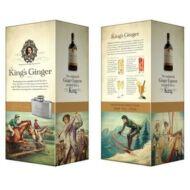 King's Ginger Liqueur Flaskával (0,5 l, 41%)