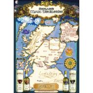 Provenance Skócia Lepárló Térkép