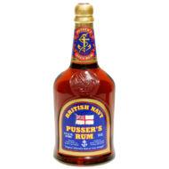 Rum Pusser's Gunpowder Proof British Navy (0,7 l, 54,5%)