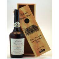 Calvados Christian Drouin 1984 fadobozban (0,7 l, 42%)