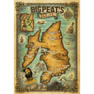 Big Peat Islay térkép