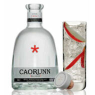 Gin Caorunn + 4 db J.Gasco Indian Tonic (0,7 l+4X0,2l, 41,8%)