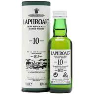Laphroaig 10 éves Mini (0,05 l, 40%)