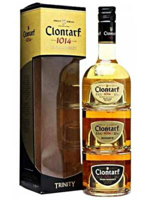 Clontarf Irish Trinity Mini Set (3*0,05 l, 3*40%)