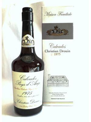 Calvados Christian Drouin 1975 (0,7 l, 42%)
