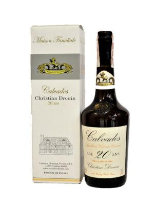 Calvados Christian Drouin 20 éves (0,7 l, 40%)
