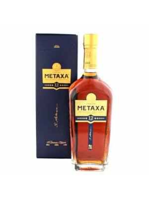 Metaxa 12 star díszdobozban (0,7 l, 40%)