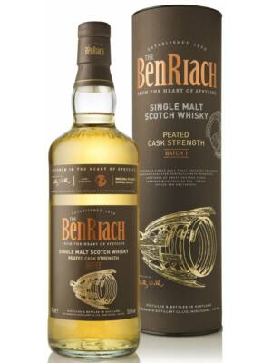 Benriach Peated Cask Strength Batch 1 (0,7 l, 56%)