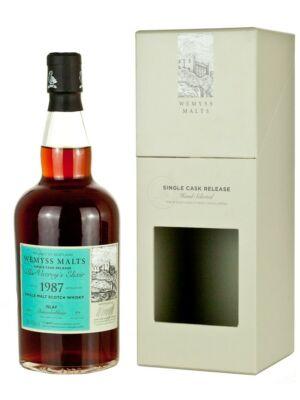 Bunnahabhain 1987, 29 éves Wemyss The Viceroy's Elixir (0,7 l, 46%)