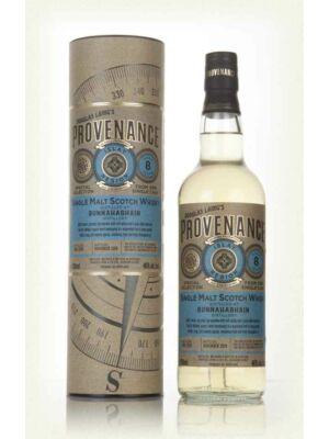 Bunnahabhain 8 éves Provenance (0,7 l, 46%)