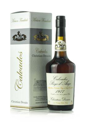 Calvados Christian Drouin 1977 (0,7 l, 42%)