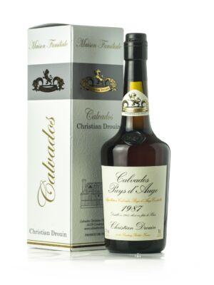 Calvados Christian Drouin 1987 (0,7 l, 42%)