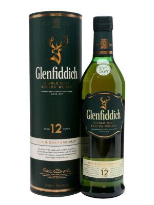 Glenfiddich 12 éves (0,7 l, 40%)