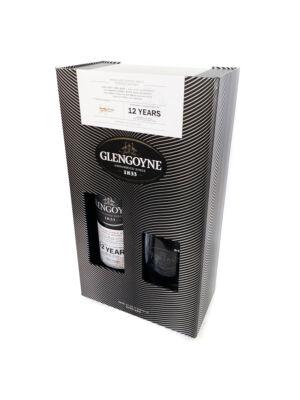 Glengoyne 12 éves Ajándékcsomag pohárral (0,7 l, 43%)