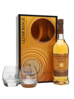 Glenmorangie 10 éves Original + 2 pohár (0,7 l, 40%)