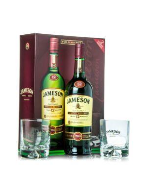 Jameson 12 éves (0,7 l, 40%) + 2 pohár