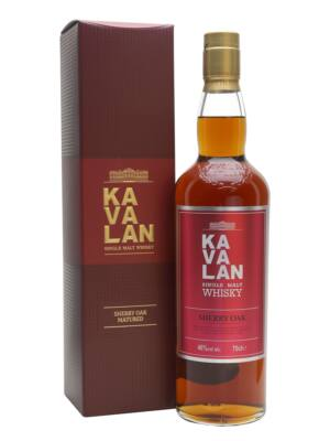Kavalan Sherry Oak (0,7 l, 46%)
