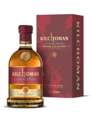 Kilchoman Red Wine Cask (0,7 l, 50%)