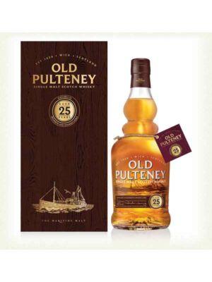 Old Pulteney 25 éves (0,7 l, 46%)