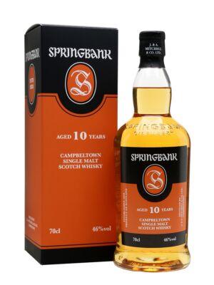 Springbank 10 éves (0,7 l, 46%)
