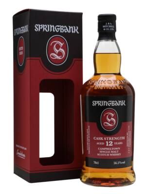 Springbank 12 éves Cask Strength (0,7 l, 56,5%)