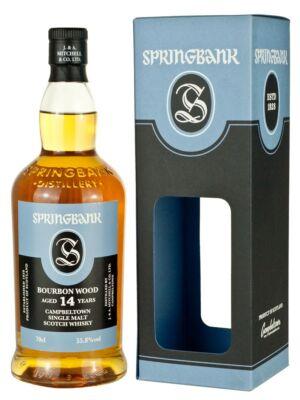 Springbank 14 éves Bourbon Cask (0,7 l, 55,8%)