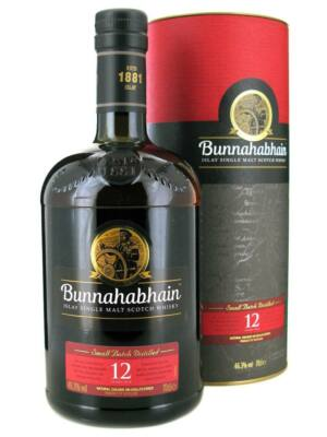 Bunnahabhain 12 éves (0,7 l, 46,3%)