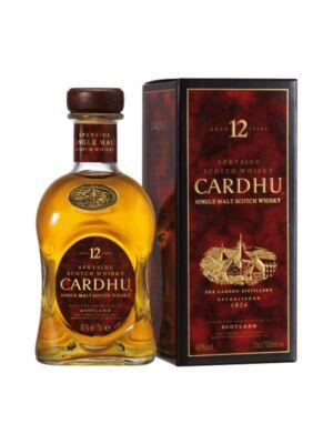 Cardhu 12 éves  (0,7 l, 40%)