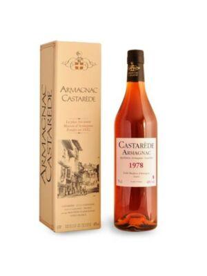 Armagnac Castaréde 1978 (0,7 l, 40%)
