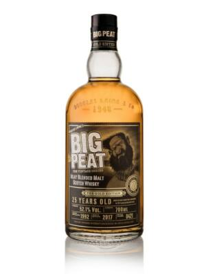 Big Peat 25 éves Gold Edition (0,7 l, 52,1%)