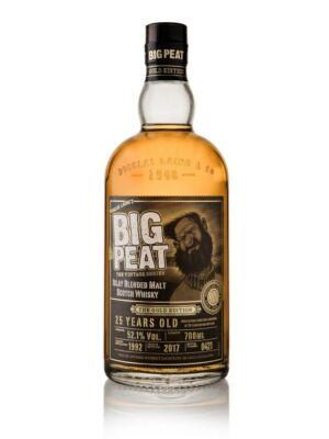 Big Peat 25 éves Gold Edition (0,7 l, 52,1%)
