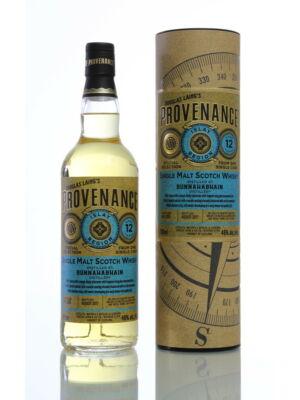 Bunnahabhain 12 éves Provenance (0,7 l, 46%)