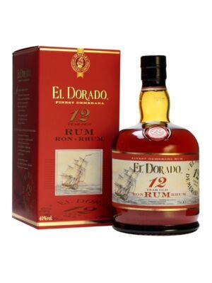 Rum El Dorado 12 éves (0,7 l, 40%)