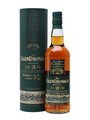 Glendronach 15 éves - Revival New Batch (0,7 l, 46%)