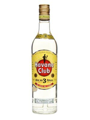 Rum Havana Club 3 éves (0,7 l, 40%)