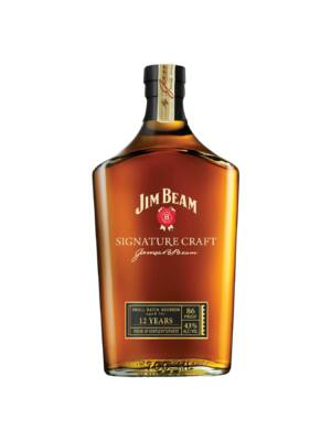 Jim Beam Signature 12 éves (0,7 l, 43%)