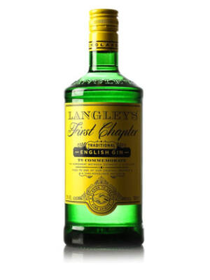 Gin Langley's First Chapter (0,7 l, 38%)