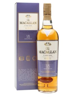 Macallan 18 éves Fine Oak (0,7 l, 43%)