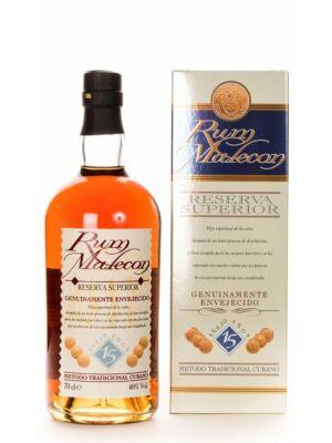 Rum Malecon 15 éves (0,7 l, 40%)