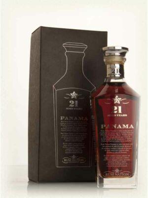 Rum Nation Panama 21 éves (0,7 l, 40%)