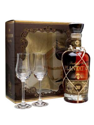 Rum Plantation XO 20th Anniversary 2 pohárral (0,7 l, 40%)