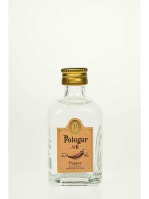 Vodka Polugar N.6 - Pepper mini (0,05 l, 38,5%)