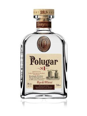 Vodka Polugar N.1 - Rye & Wheat (0,7 l, 38,5%)
